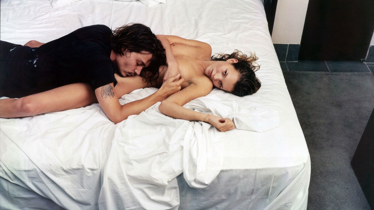 Kate Moss and Johnny Depp, Sexo entre elmas